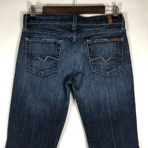 7 For All Mankind Bootcut Lowrise Jeans Pre-Owned